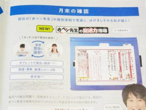 進研ゼミ チャレンジタッチ「サポート」について